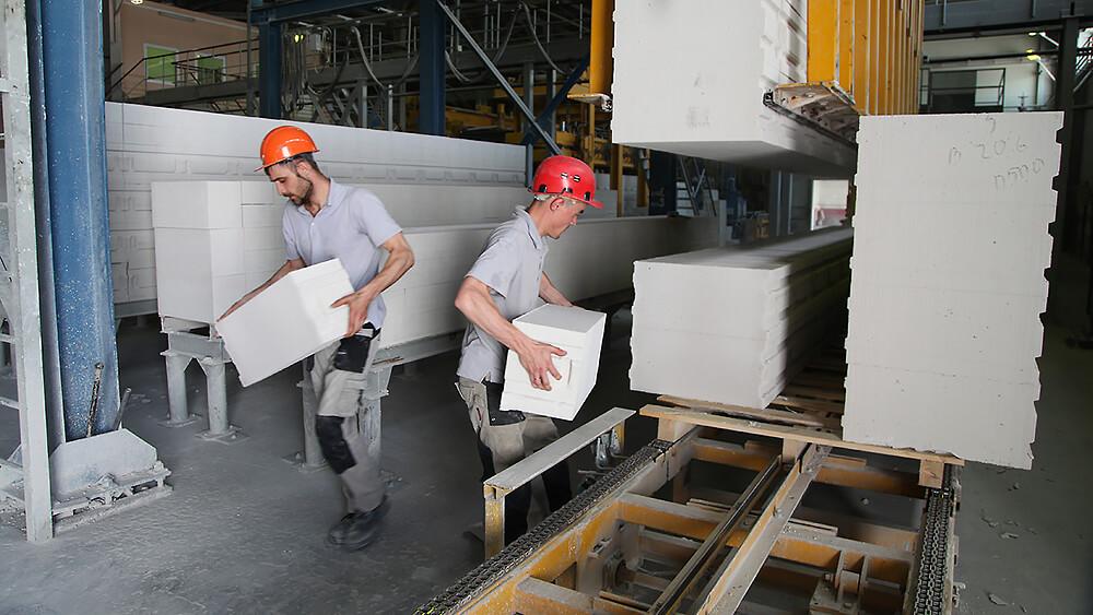 производство блоков из пенобетона